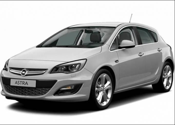 Аренда Opel Astra 1.6 (хетчбек) в Симферополе