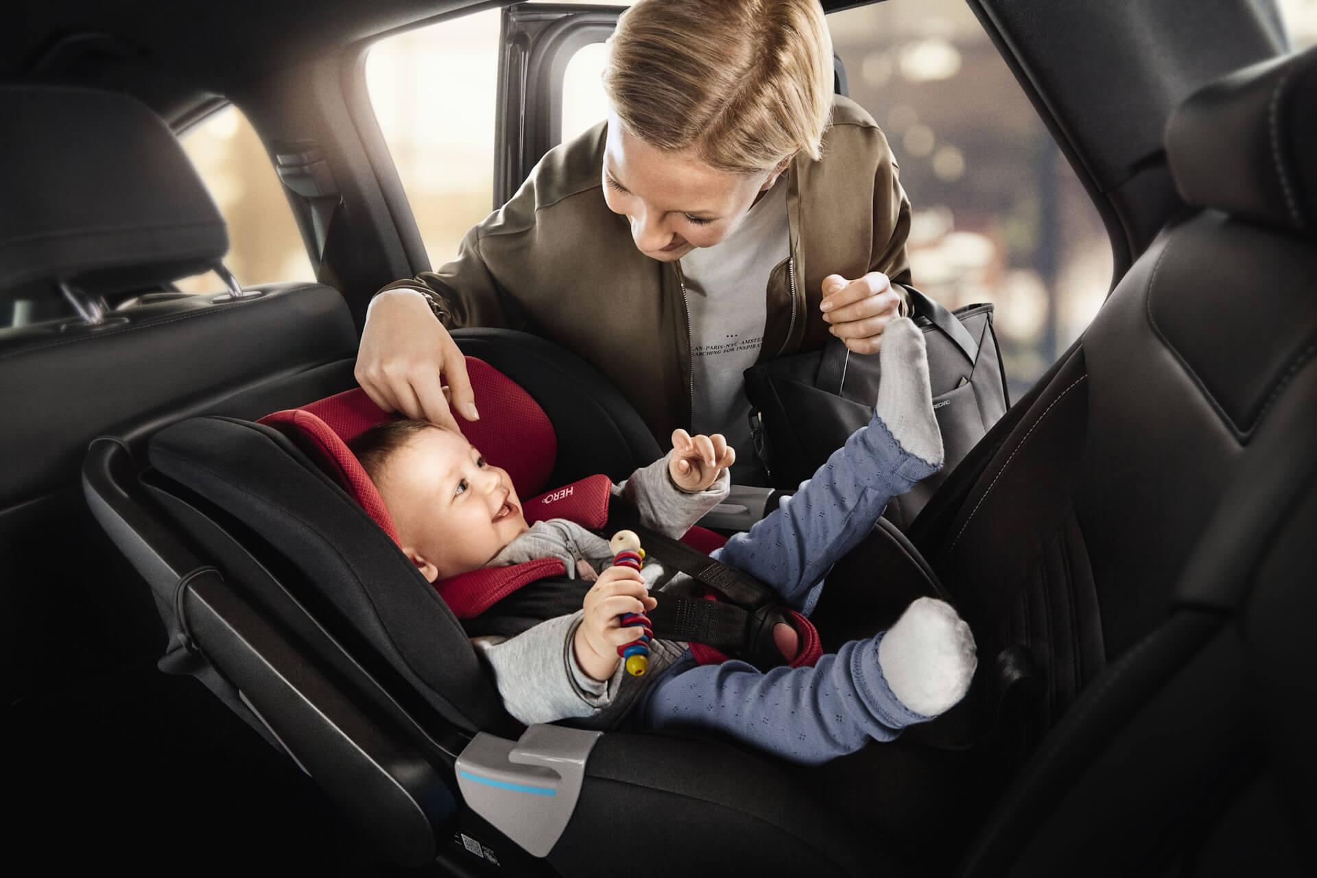 Аренда детского сиденья для автомобиля в Крыму